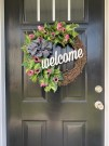 28 Cheery Spring Wreath Ideas To Beautify Your Front Door 02