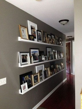 28 Creative Ways To Fill Your Plain Walls By Showing Off Your Mini Photo Collections 10
