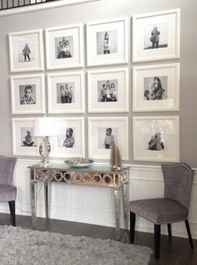 28 Creative Ways To Fill Your Plain Walls By Showing Off Your Mini Photo Collections 18
