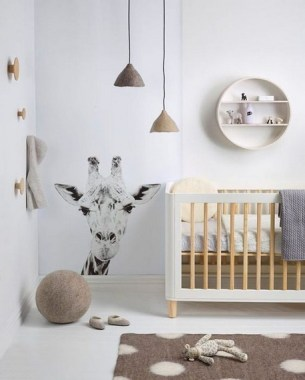 28 Unique Baby Boy Nursery Room With Animal Design 17