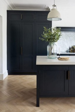 30 Stylish Black Kitchen Cabinets That Instantly Upgrade Your Kitchen Look 11