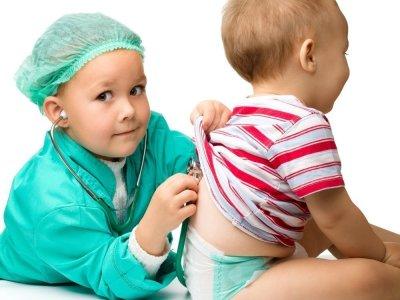 تزييق الصدر عند الاطفال الرضع