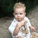 اكل التراب عند الاطفال