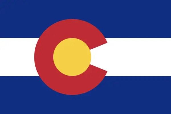 Colorado Facts for Kids - Flag of Colorado