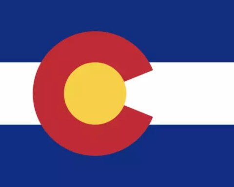 Colorado Facts for Kids - Flag of Colorado