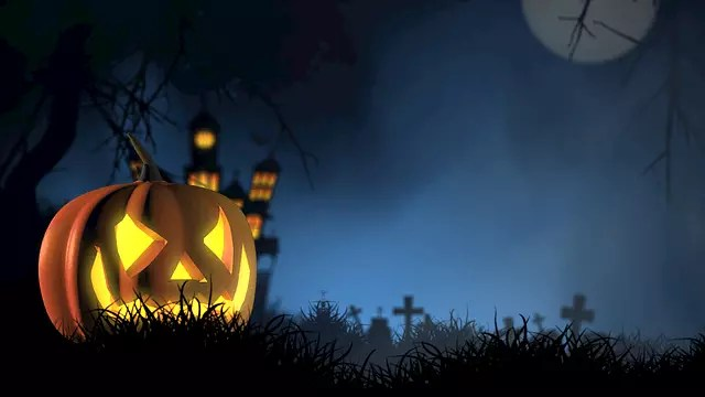 Halloween Facts for Kids haunted house