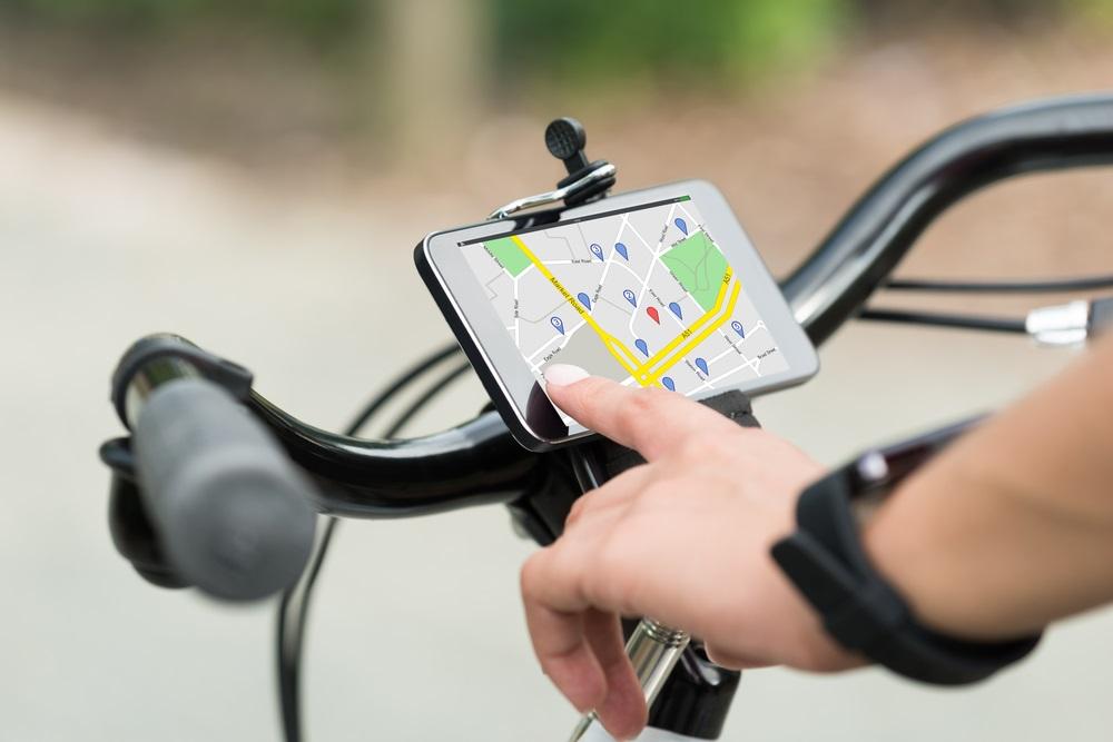 Smartphonehouder fiets handsfree