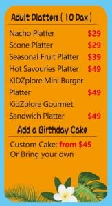 Kidzplore Platter- Kids play centre Canberra