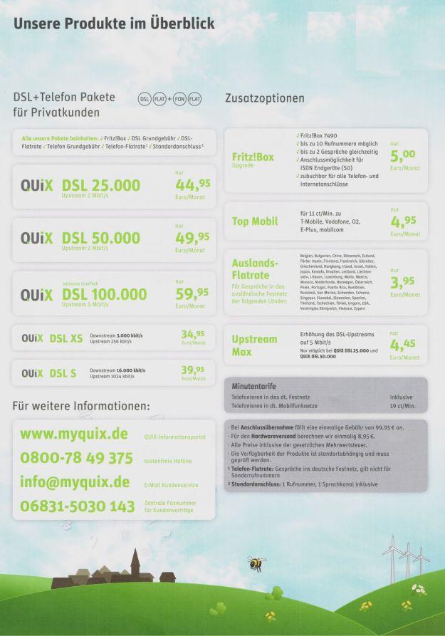 QUiX-Produkte