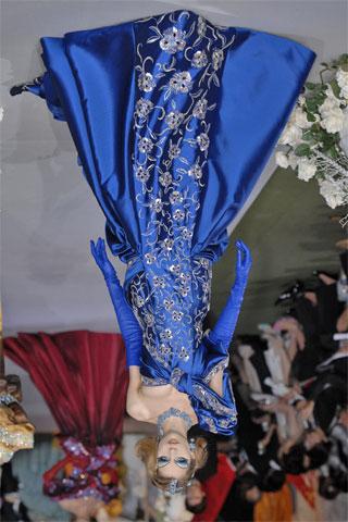 Dior blue dress 180