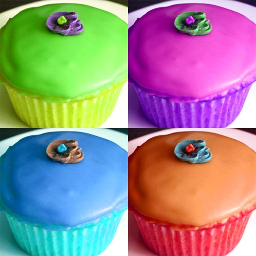 Cupcake color