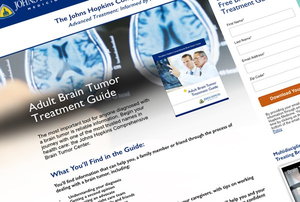 Johns Hopkins – Brain Tumor Campaign