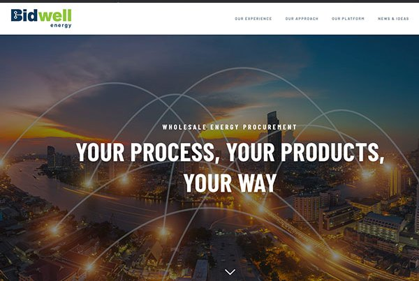 Bidwell Energy Website