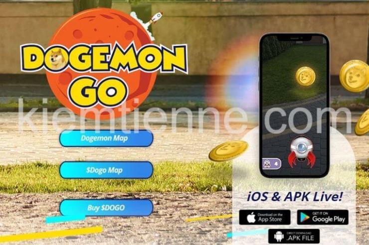 DogemonGo là gì - các mua đồng dogemongo