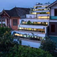 Terraces Home | Nhà ở Hà Tĩnh - H&P Architects