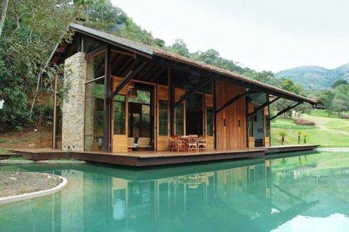 Thiết kế nhà nổi trên nước: Thiên đường ngày hè