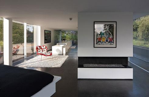 Không chỉ thiết kế bên ngoài, kiến trúc nội thất của dinh thự cũng rất nghệ thuật, tinh tế và độc đáo.
