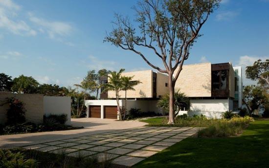 Thiết kế không gian ngôi nhà sang trọng ven sông