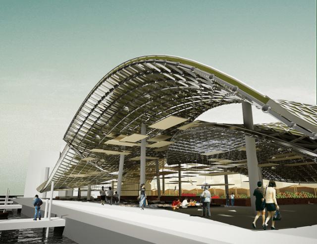 Công nghệ xây dựng ngày càng phát triển cho phép lưới cột được giải phóng