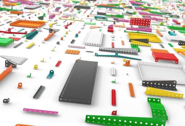 Không chỉ là đồ chơi trẻ em, Meccano Home cho phép bạn tự tạo lên tiện nghi cho riêng bạn