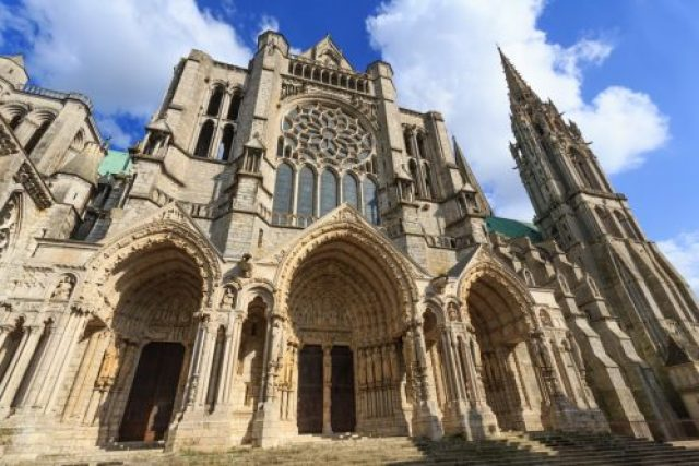 built-around-1200-the-chartes-cathedral-in-northern-france-is-a-primary-example-of-gothic-architecture-notice-the-ornate-portals-that-you-enter-into-the-building-through