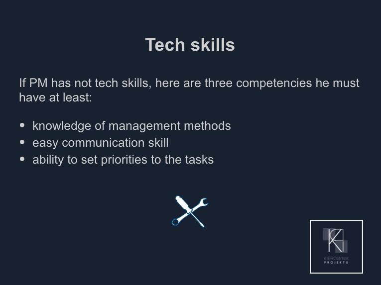 Wskazówka: Tech skills