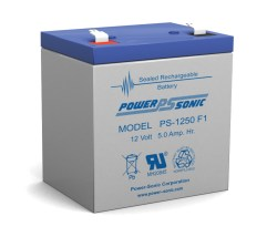 Powersonic PS-1250-F1 12V 5AH Battery