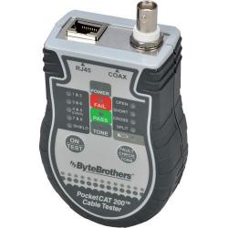 Byte Brothers CTX200 Pocket Cat RJ45/Coax Tester