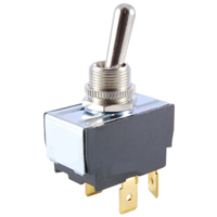 NTE 54-004 SWITCH TOGGLE DPST 15A ON-NONE-OFF 125VAC