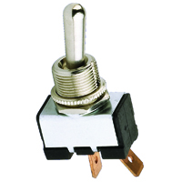 NTE 54-005 SWITCH BAT HANDLE TOGGLE SPST 20A ON-NONE-OFF 125VAC