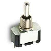 NTE 54-006 SWITCH TOGGLE SPST 15A ON-NONE-OFF 125VAC