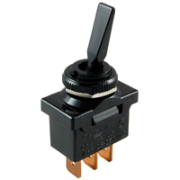 NTE 54-021 SWITCH NYLON PADDLE TOGGLE SPDT 20AMP ON-NONE-ON