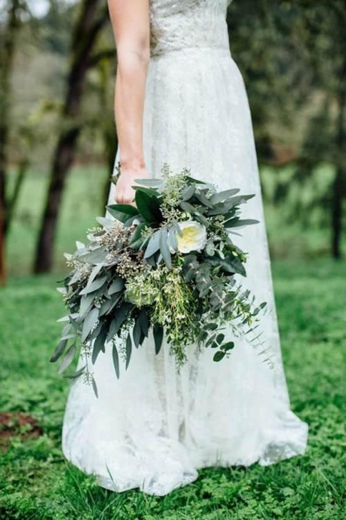 свадебный-букет-из-зелени