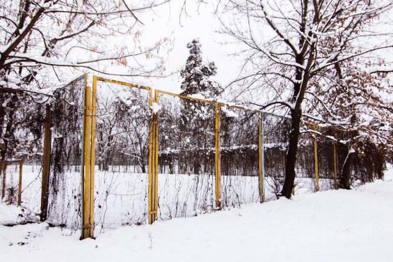Также там расположено поле для мини-футбола