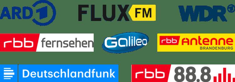 Der Kiezbote war bereits im Fernsehen bei ARD, WDR, rbb und Galileo sowie im Radio bei FLUX.FM, rbb Antenne Brandenbrug, Deutschlandfunk und rbb 88.8.