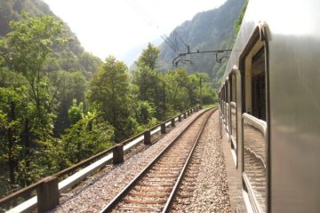 Bahnfahrt zum Slam
