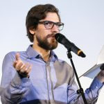 Kiezpoeten Slammer und Moderator Jesko Habert c Dirk Enders