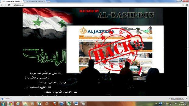 """هاكرز.. """"الراشدون"""" السوريون يخترقون موقع الجزيرة"""