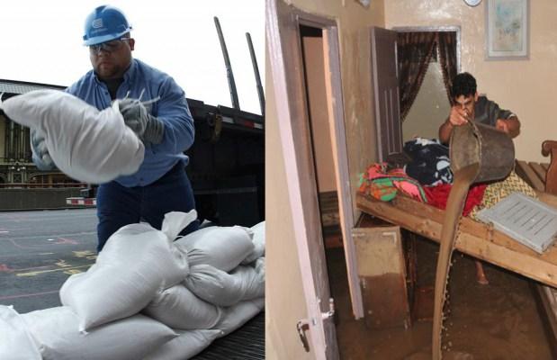 بين قطرات الهراويين وكارثة نيويورك.. ضربة الإعصار وضربة الأعصاب!! (صور للمقارنة)