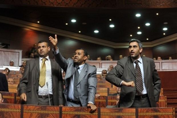 """قبل ساعات من انتخاب رئيس مجلس النواب.. بوانو يقول لغلاب """"الله يلعن اللي ما يحشم"""""""