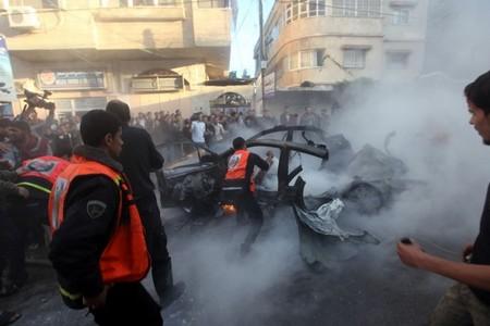بعد مقتل الجعبري في غزة.. صواريخ حماس تقتل 3 إسرائليين (فيديو وصور)