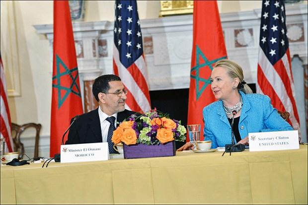 هيلاري كلينتون تزور المغرب.. ويلكام ويلكام