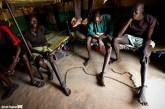 سجناء في جنوب السودان