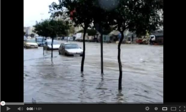 طنجة.. الفيضانات