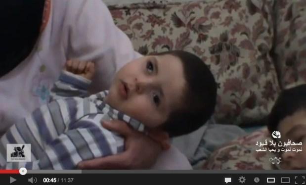 حالة إنسانية.. طفل ينتظر المساعدة
