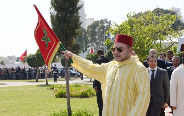 طنجة.. الملك يدشن مشاريع بنيوية