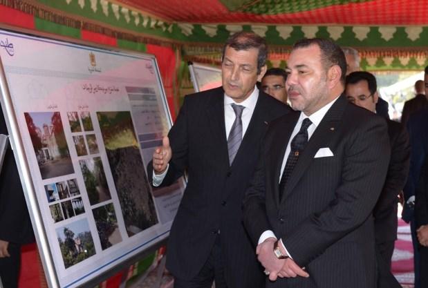 الملك في طنجة.. مشاريع لإعادة تأهيل الموروث التاريخي (صور)
