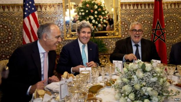 وزير الخارجية الأمريكي: ملتزمون باتفاق باريس