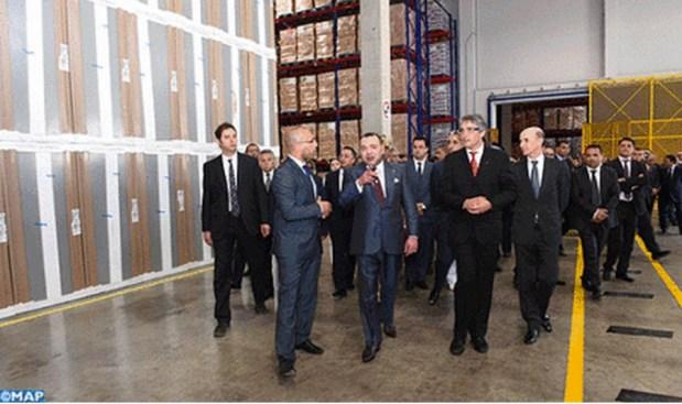 المحمدية.. الملك يعطي انطلاقة الاستراتيجية الوطنية لتطوير التنافسية اللوجستيكية