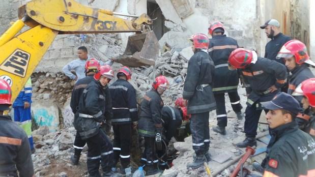 مراكش.. 4 مصابين بعد انهيار منزل في المدينة العتيقة